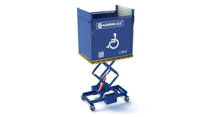 Mobile platform for people with limited mobility