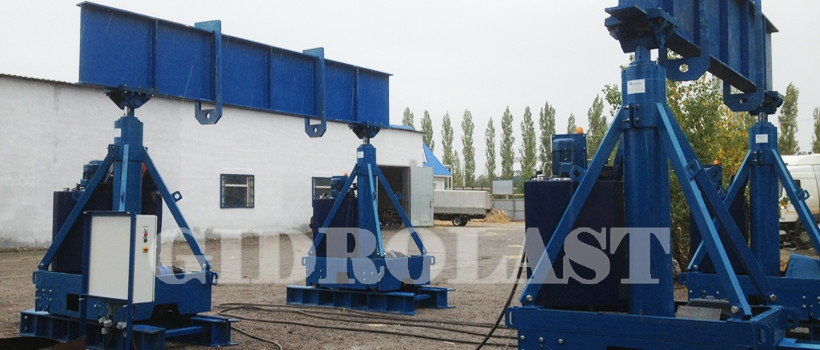 Hydraulic gantry systems
