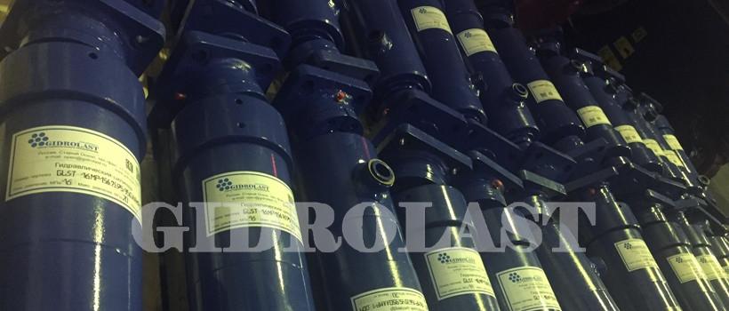 Telescopic hydraulic cylinders